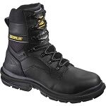 CAT Generator 8-inch Insulated Steel Toe Work Boot - Black