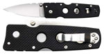 Cold Steel Hold Out III 3 in. Plain Edge Folding Knife - 11HM