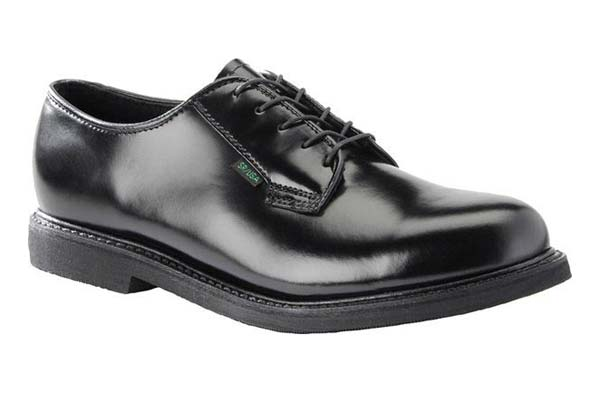 Military Leather Oxford Shoes