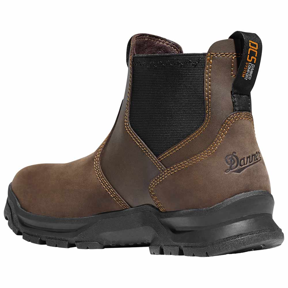 Danner Crafter Romeo 5 5 In Brown Safety Toe Work Boot 12431