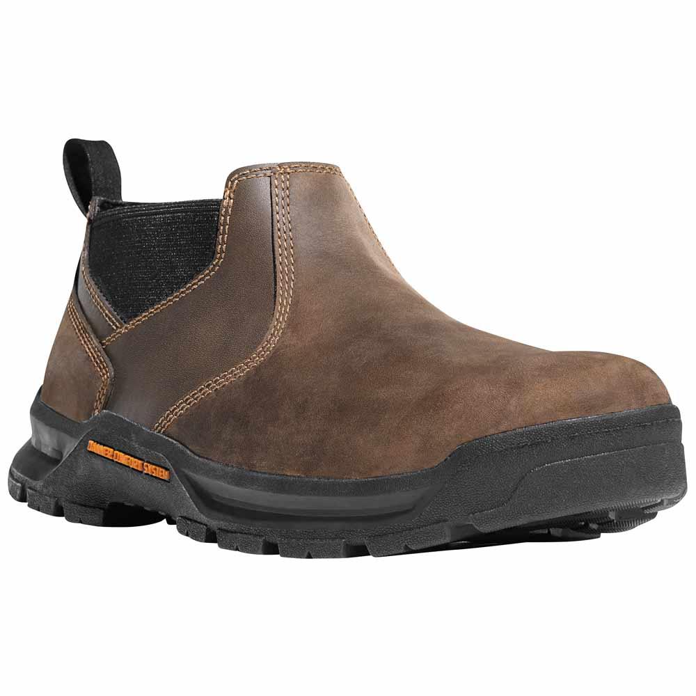 Danner Crafter Romeo 3 In Brown Waterproof Work Shoe 12441