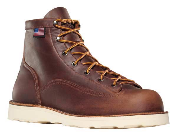 Danner 15554 Bull Run Cristy 6 Inch Brown Leather Safet Y