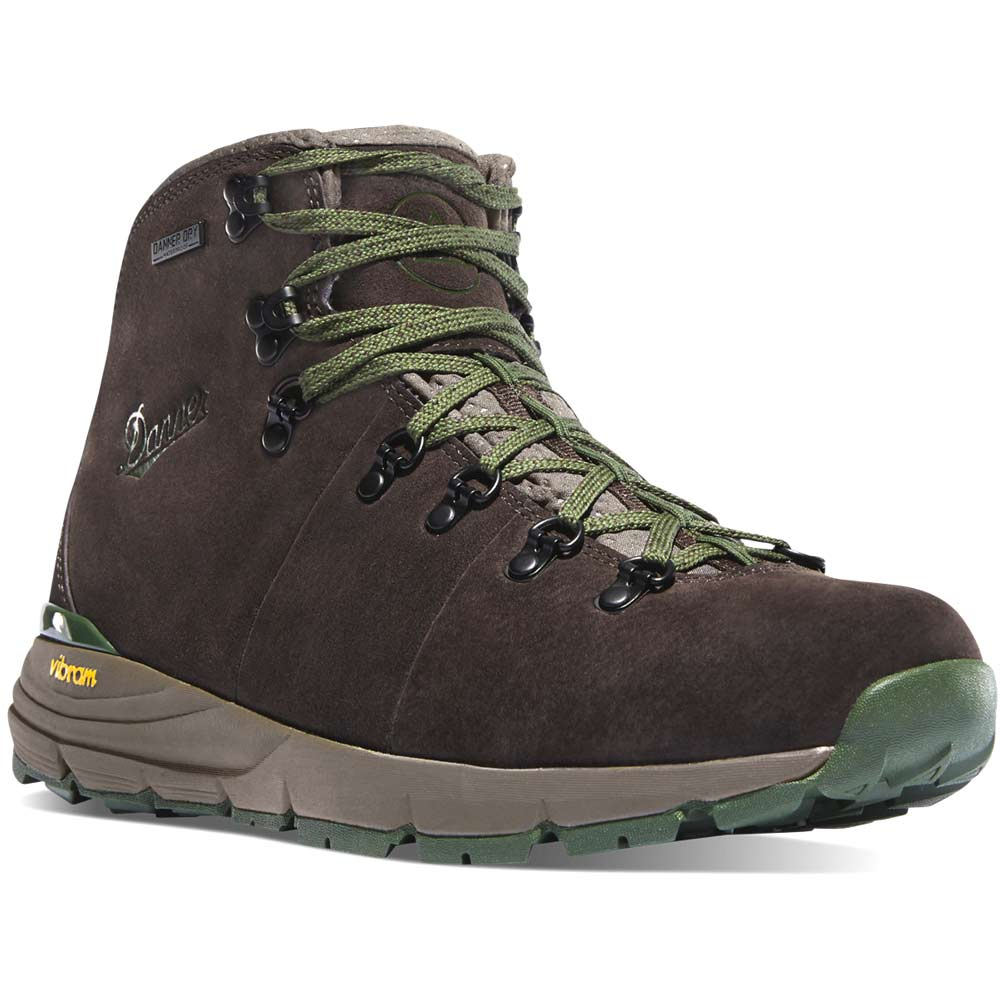 Danner Mountain 600 Brown Green Wp Hiking Boot