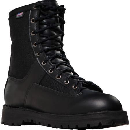 Danner Acadia 8 Inch Mens Black Uniform Steel Toe Boot