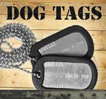Personalized Military Dog Tags
