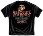 Absolute Marines - USMC T-shirt