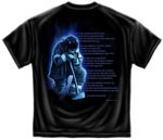 Faith Service Honor Firefighter T-shirt