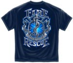 Service Before Self Fire Rescue T-shirt