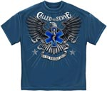 Called to Serve EMS T-shirt - Blue