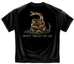 Don't Tread on Me T-shirt - Black