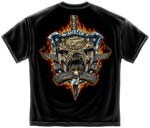 Once a Marine, Always a Marine - American Shield T-shirt