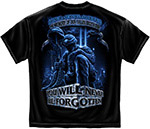 In Memory of Our Fallen Brothers T-Shirt - Black