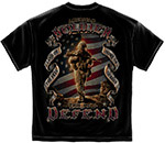 American Soldier This We'll Defend T-Shirt - Black