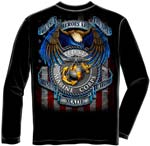 Marine True Heroes Long Sleeve T-Shirt