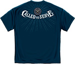 Navy Called to Serve T- Shirt - Navy Blue