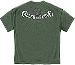 Army Called to Serve T- Shirt - Heather Green