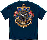Navy The Sea Is Ours T-Shirt - Navy Blue