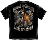 Air Force Second to None T-Shirt - Black
