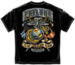 USMC Failure Is Not An Option T-Shirt - Black