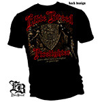 Elite Breed Born a Firefighter T-Shirt - Black
