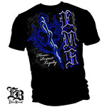 Elite Breed Honor Respect Loyalty EMS T-Shirt - Black
