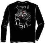 Marine Steel Bulldog Long Sleeve T-shirt