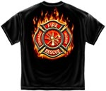 Fire Rescue Courage and Honor T-shirt
