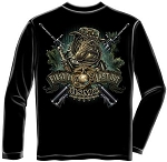 First in Last Out USMC T-shirt - Long Sleeve
