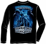 In Memory of Our Fallen Brothers Military Long Sleeve T-shirt