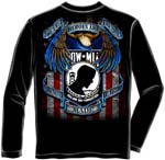 POW MIA True Heroes T-Shirt - Long Sleeve