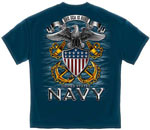 United States Navy The Sea is Ours Military T-Shirt