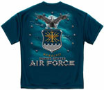 United States Air Force Eagle and Shield Military T-Shirt