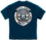 Police Badge of Honor T-shirt
