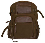 Vintage Londoner Commuter Daypack - Brown