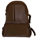 Vintage Airman's Canvas Backpack - Brown