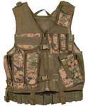Mach-1 Digital Woodland Camo Tactical Vest