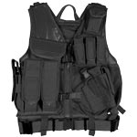 Mach-1 Black Tactical Vest