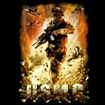 USMC Warfare T-shirt by FL