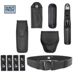 Hero's Pride 7 Piece Ballistic Nylon Tactical Duty Belt and Gear kit