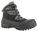 Hi-Tec 40798 Men's Ozark Waterproof Insulated Black Winter Boots