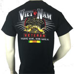 Vietnam Veteran Dragon T-Shirt by JB