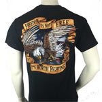 Freedom is Not Free Military T-Shirt by JB