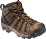 Keen 1007972 Flint Mid Steel Toe Brown Work Boot