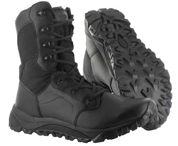 Magnum 5484 Mach 2 Black Side Zip Waterproof Tactical Boots