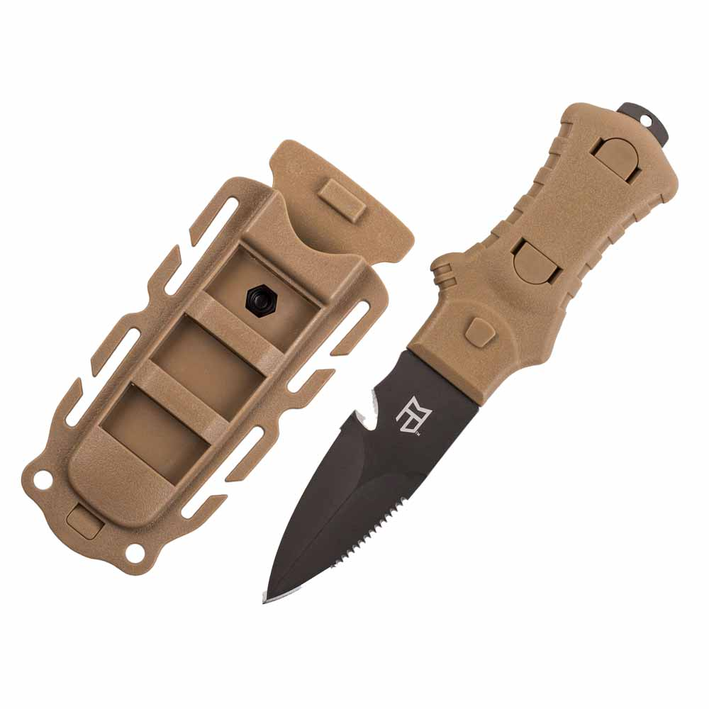 McNett Tactical 3-Inch Fixed Blade Stiletto Knife