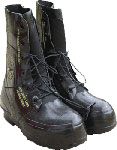 Black Extreme Cold Military Mickey Mouse Boots