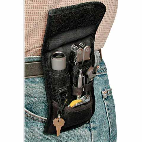 Glove clip for duty belt
