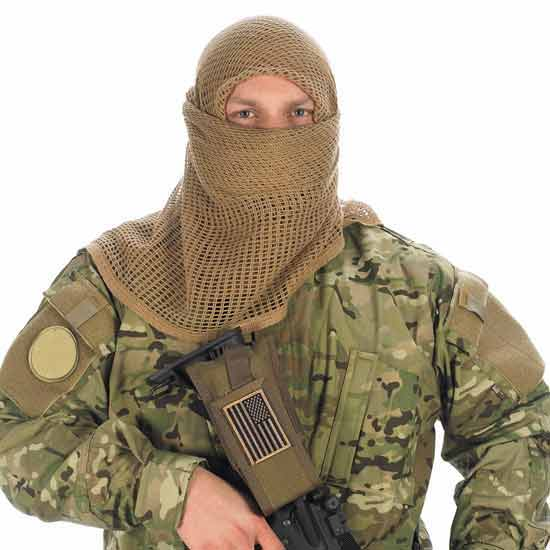 Military Style Camouflage Face Cover By Camcon