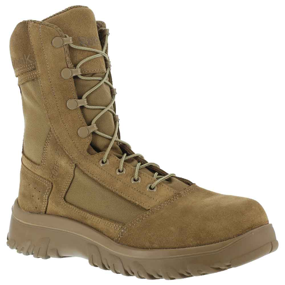 Reebok Krios 8 Inch Coyote Brown Military Boot Cm8803
