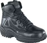 Reebok Mens Rapid Response 6 Inch Side Zip Composite Toe Tactical Boots - RB8674